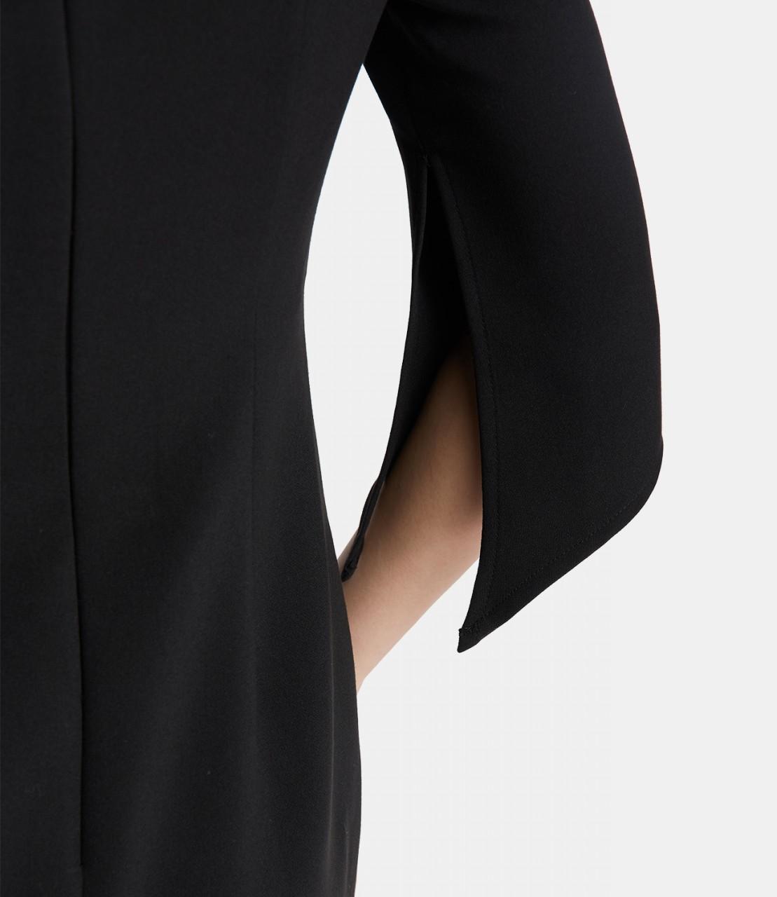 Unifarbenes Stretchkleid
