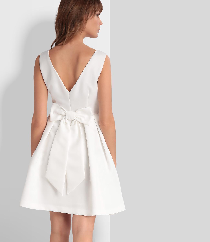 Weißes Cocktailkleid | Brautkleid | APART Fashion