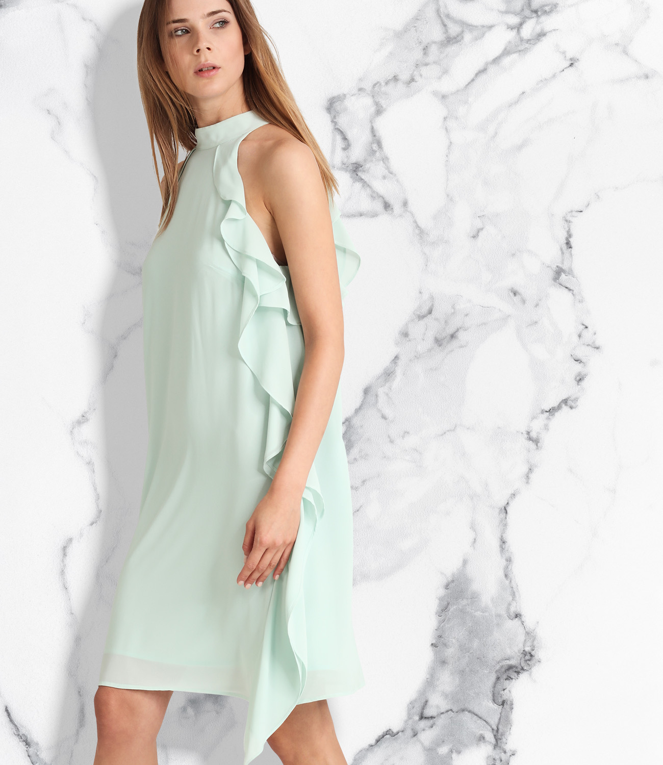 mintfarbenes kurzes abendkleid apart fashion. Black Bedroom Furniture Sets. Home Design Ideas