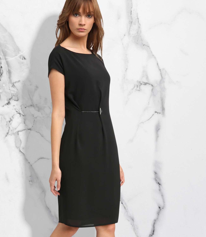 Charmantes, schwarzes Kleid | APART Fashion