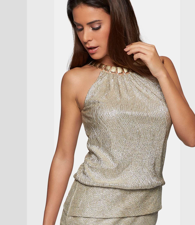 Partykleid in Gold | APART Fashion