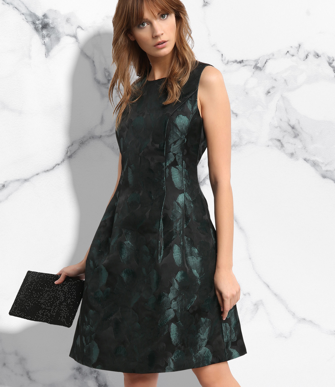 Buntes Jacquardkleid | APART Fashion