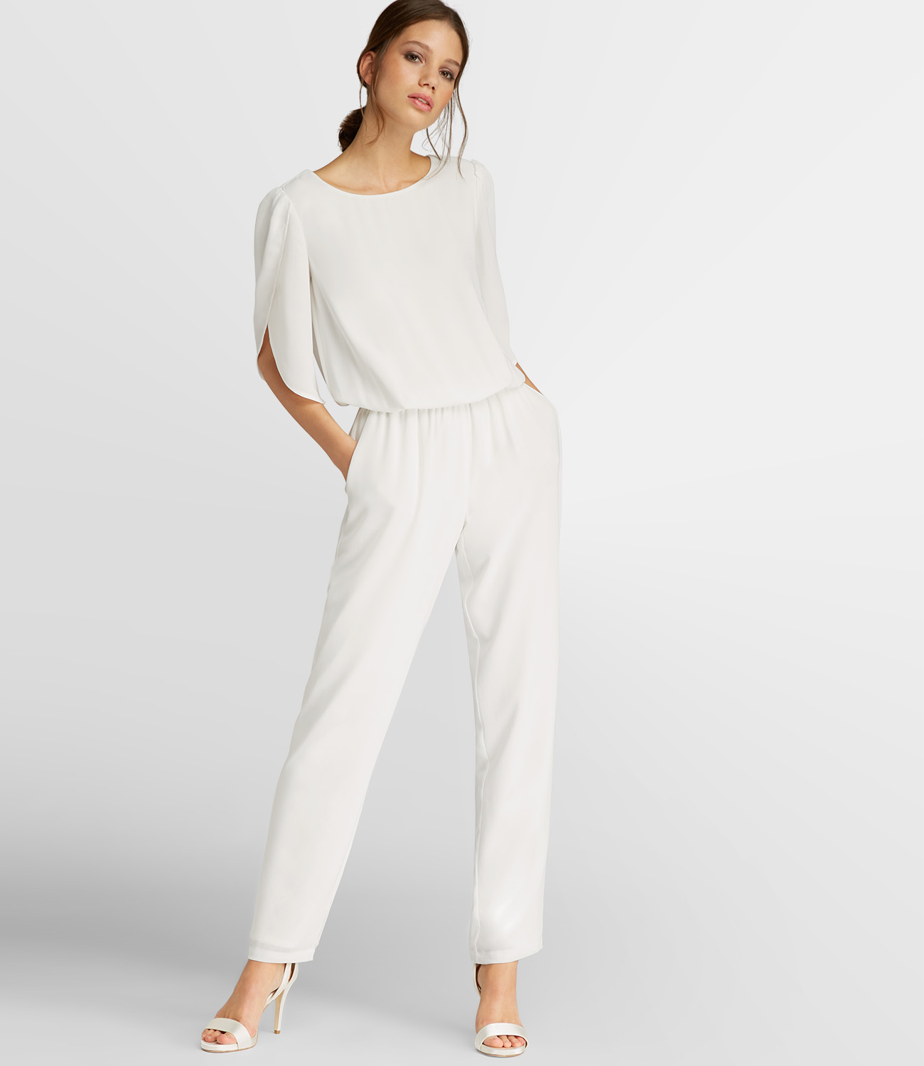 c6194aab37fd22 Overall in Weiß | APART Fashion