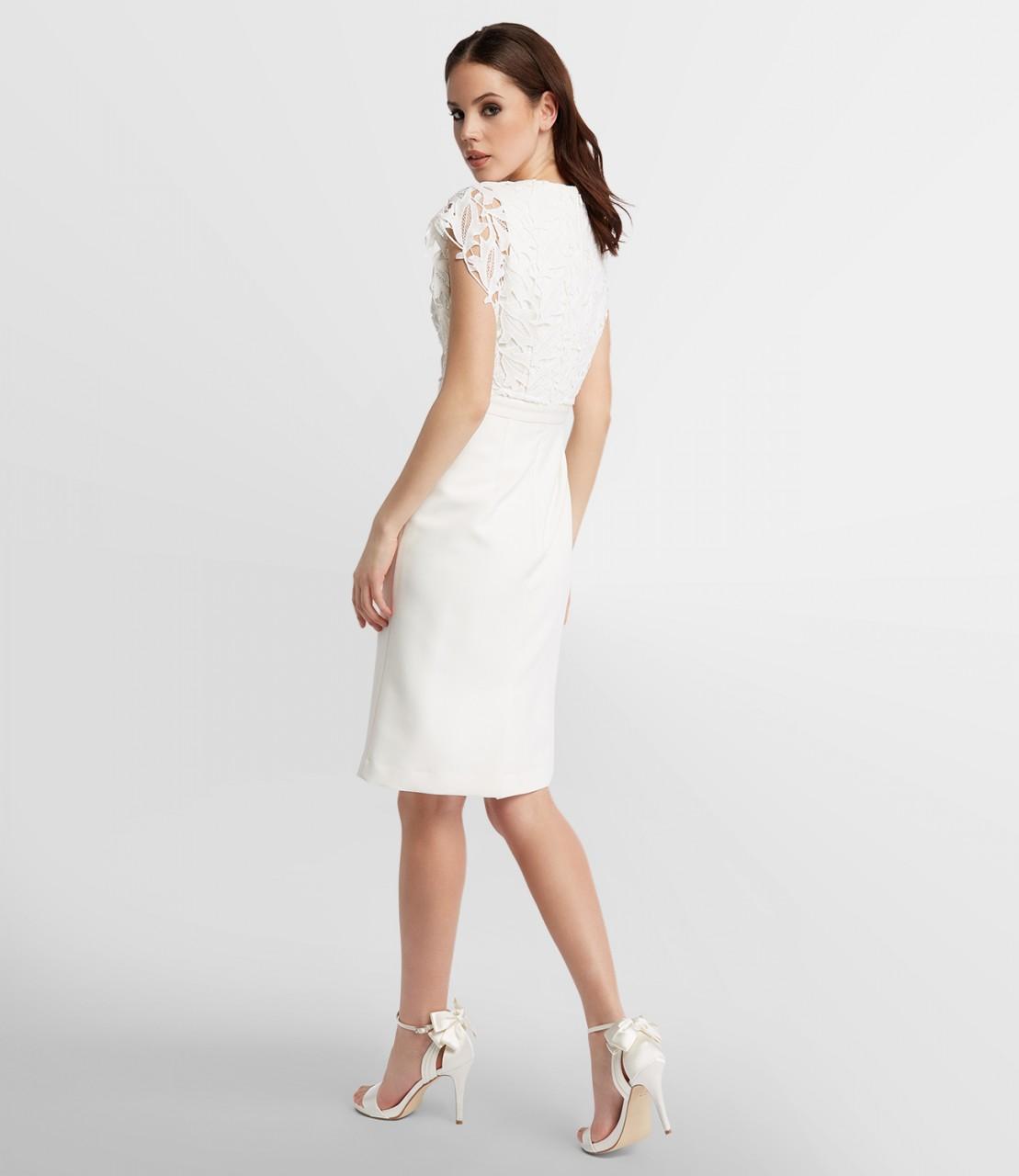 Kurzes Hochzeitskleid